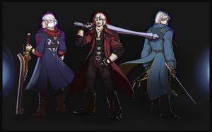 (Personal) Sparda Descendants by Syrae-Universe