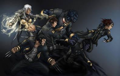 X-Men color by YamaOrce