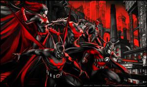 Gotham in Red by YamaOrce