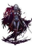 Sorceress comm by YamaOrce