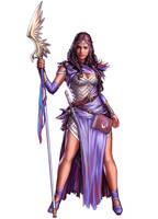 Pathfinder Priestess  comm by YamaOrce