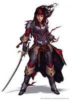 Captain Paracountess Vorrea by YamaOrce