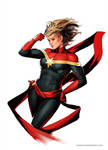 Captain Marvel by YamaOrce