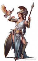Athena by YamaOrce