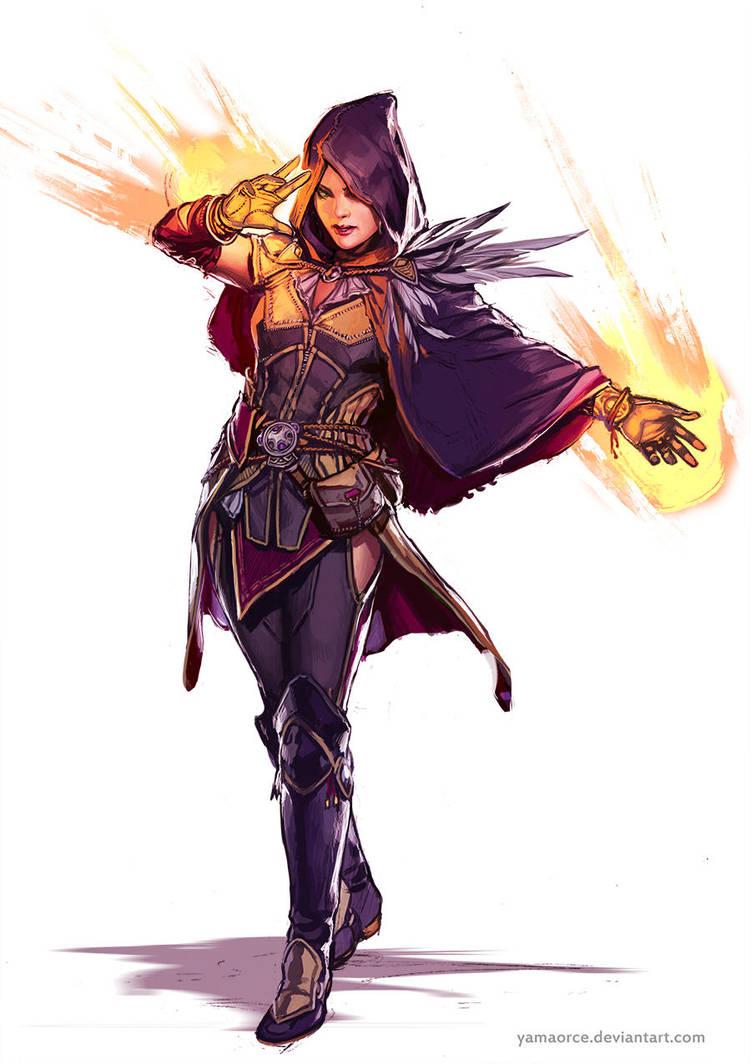 Sorceress by YamaOrce