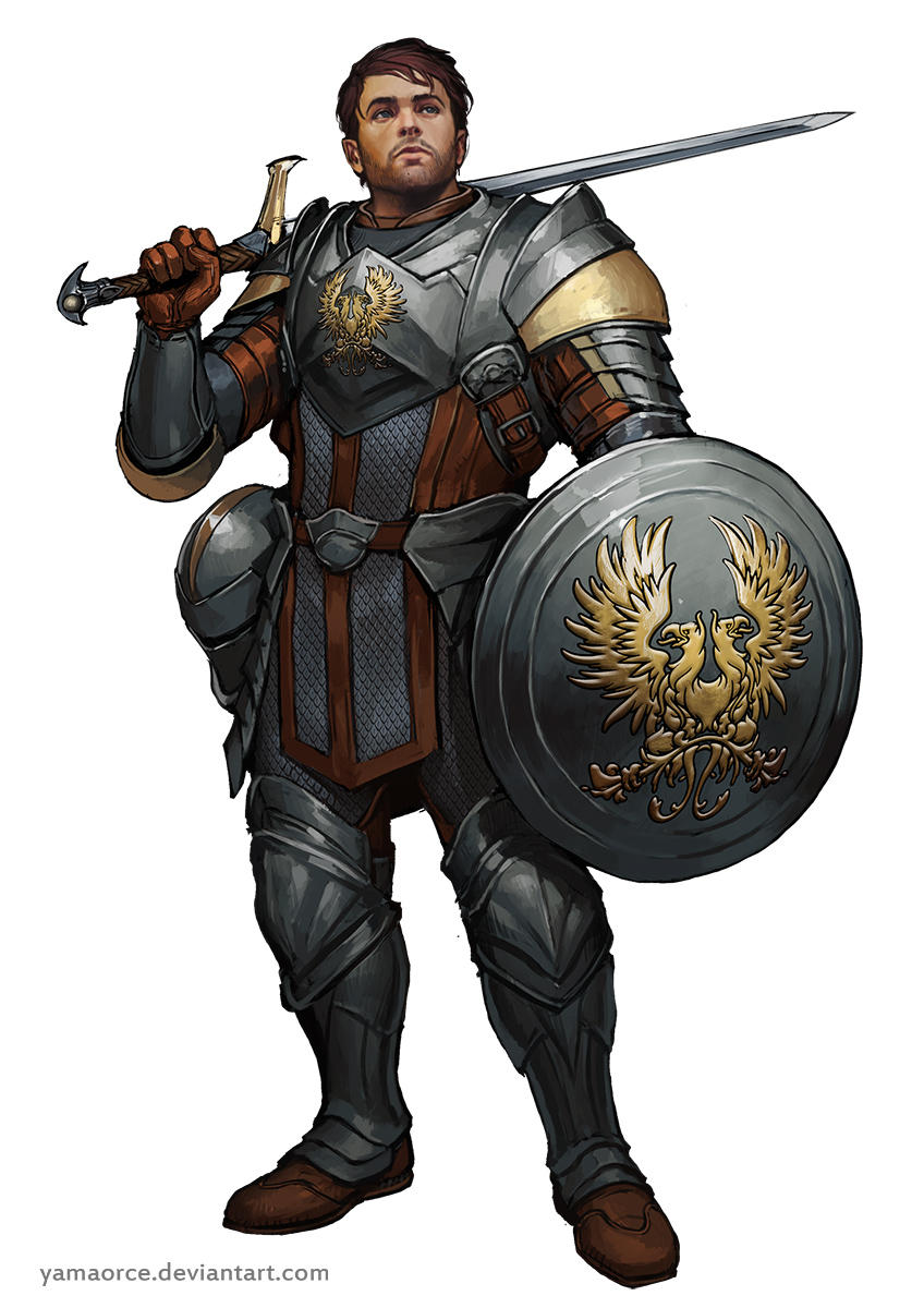 Grey Warden Com by YamaOrce