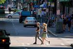 Crossing the Street by LeGreg
