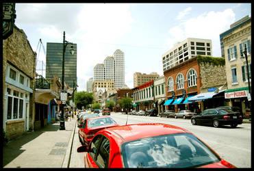 Downtown Austin by LeGreg