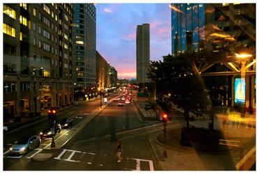 Boston street by LeGreg
