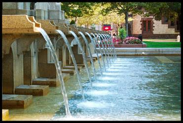 The fountain by LeGreg