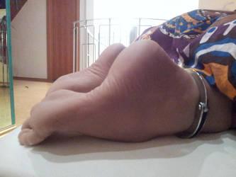 *Feetcuffed* by AlexandersFeet