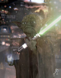 Yoda - Star Wars by Panc0