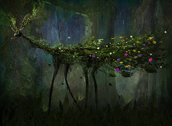 Deep Forest Creature by Madink-art