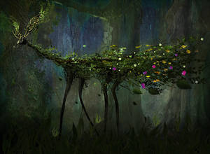 Deep Forest Creature by Madink2000