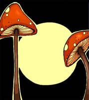 mushrooms by crackerz1972