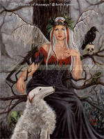 The Queen of Annwyn by BlondeWitch