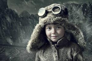 Snowgirl by Irina-Khutornaya