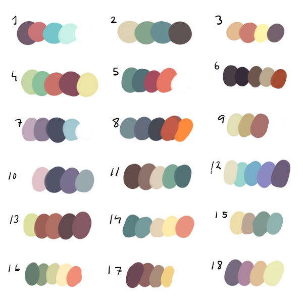 Freetouse Colour Palette By Dexikon