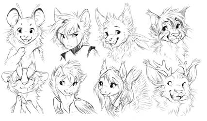 Request Sketches by dexikon