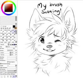 Brush setting (SAI) by dexikon