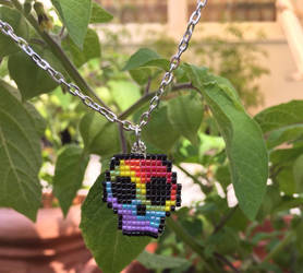 Rainbow Skull by Craftissimo