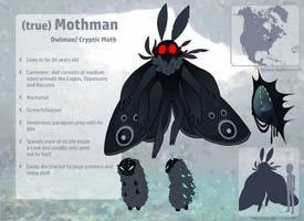 (True) Mothman by donut-toast