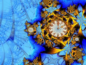 Mantlebrot Clock by GrannyOgg