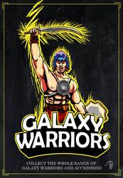 GALAXY WARRIORS by crowbrandon