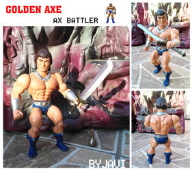 Ax Battler - Golden axe custom by crowbrandon