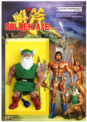 GOLDEN AXE FIGURE Gilius Thundehead by crowbrandon