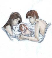 breaking dawn . happy family by Griselibiris