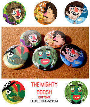 Boosh Buttons by LilUFO