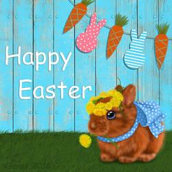 Easter bunny by Ksenos-ks