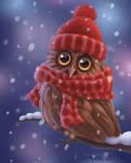 A Cute Owlet by Ksenos-ks