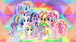 My Little Pony /Edit|Wallpaper\ by Electric0Journey