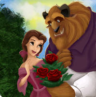 Beauty and the Beast by LahArts