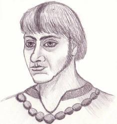Pencil Portrait by aahawley