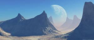 Clear Blue Sky by Bonvanello
