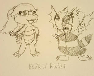Contest Entry: Keka 'N' Rubat. by Rubiliss