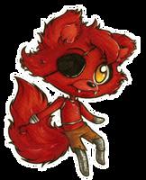 FNAF chibis 1: Foxy by Forunth