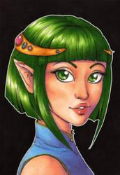Portrait 14: Jade by Forunth