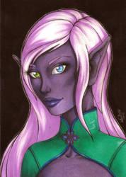 Portrait 12: Olarae by Forunth