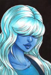 Portrait 13: Sapphire by Forunth