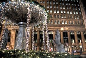 Christmas lights on Trade by spudart