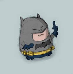 Cute Batman by spudart