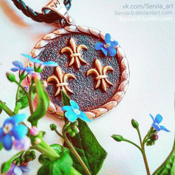 Temerian medallion. by Servia-D