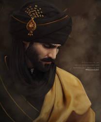 Hasnain Lehri. Portrait. by Servia-D