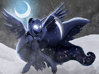 Luna, the Nightmare Yet to Come by Gab0o0