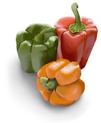 pepper trio by inu-ears