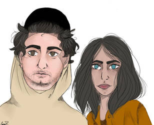 Ethan And Hila by umhoi